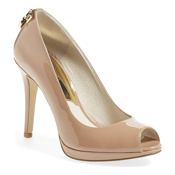 MICHAEL MICHAEL KORS hamilton peep toe pump - Classic and polished enough to transition easily from day...