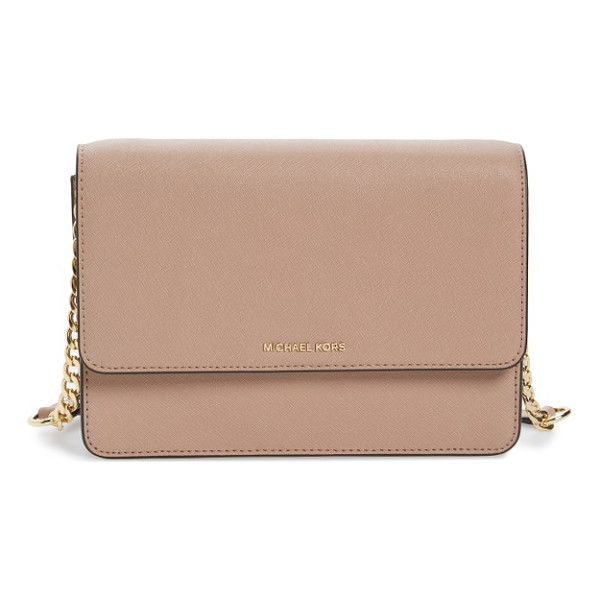 MICHAEL MICHAEL KORS large daniela leather crossbody bag - A stylish, streamlined crossbody in leather is just what...