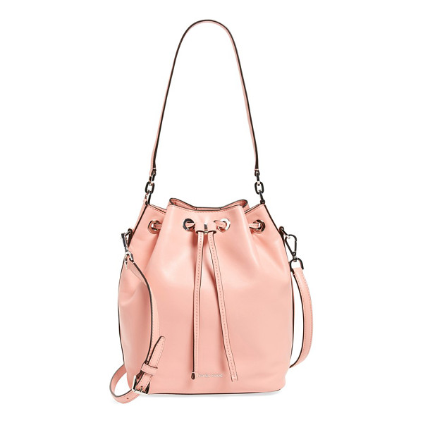MICHAEL MICHAEL KORS Large dottie leather bucket bag - A relaxed and effortlessly versatile bucket bag cinched by...