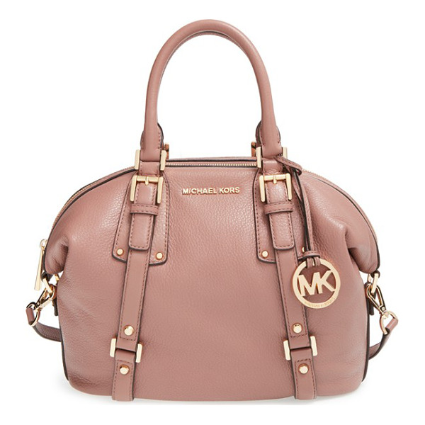 MICHAEL MICHAEL KORS Medium bedford satchel - A spacious, vintage-inspired satchel takes a sophisticated...
