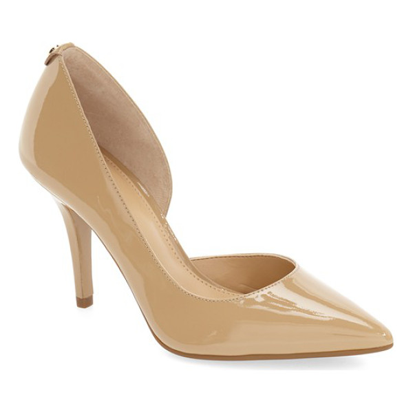 MICHAEL MICHAEL KORS 'nathalie flex' half d'orsay pump - An immaculate half d'Orsay silhouette defines a lithe...