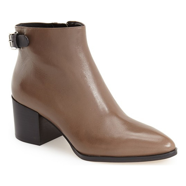 MICHAEL MICHAEL KORS saylor ankle bootie - Clean, modern design allows the details to shine on these...