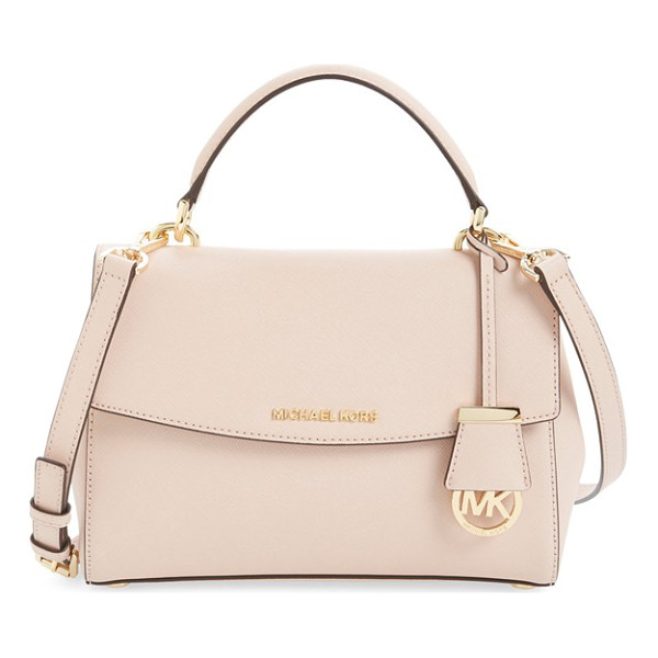 MICHAEL MICHAEL KORS Small ava saffiano leather satchel - Rich Saffiano leather composes a structured, vintage-chic...