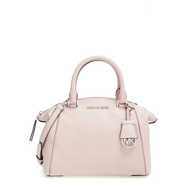 MICHAEL MICHAEL KORS Small riley satchel - Supple pebbled leather in the season's hottest hue is set...