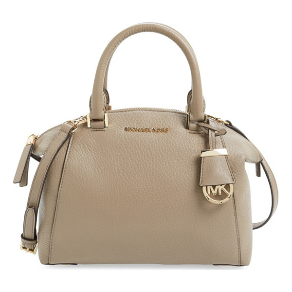 MICHAEL MICHAEL KORS Small riley satchel - A slightly flared silhouette adds a poised, modern element...
