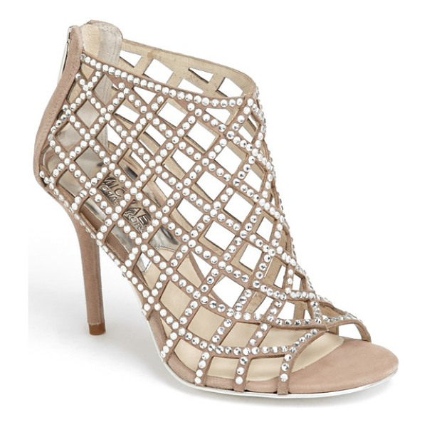 MICHAEL MICHAEL KORS yvonne bootie - Glittering cage straps dotted with faceted crystals light...