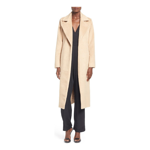 MISSGUIDED belted wrap coat - This long coat is effortlessly elegant and chic with its...