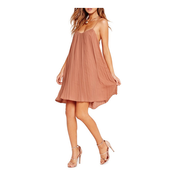 MISSGUIDED pleated swing dress - Made with swingy accordion pleats, this romantic chiffon...