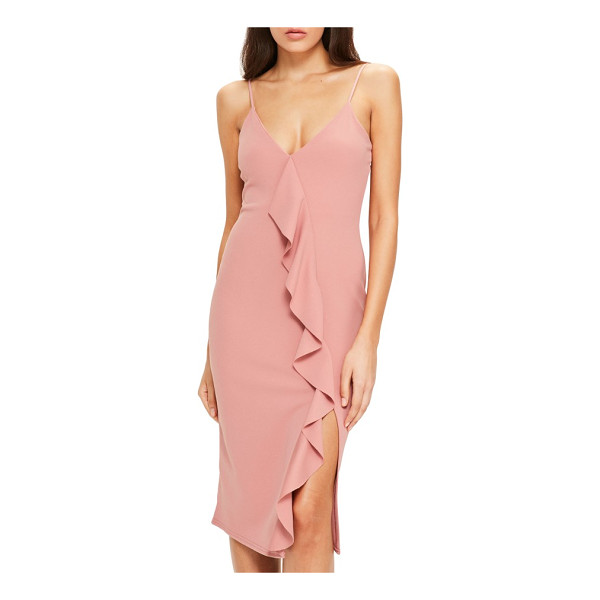MISSGUIDED ruffle dress - Crafted from lightweight chiffon, this romantic dress has...