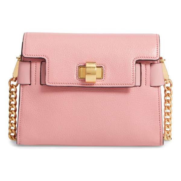 MIU MIU madras leather crossbody bag - This cleanly styled, structured crossbody made from finely...