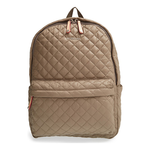 MZ WALLACE Metro quilted oxford nylon backpack - Diamond-quilted nylon comprises a super-lightweight...