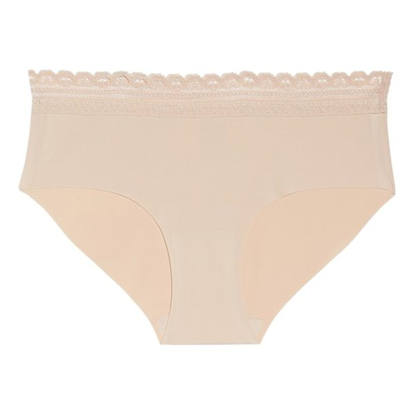 NAKED almost  lace trim hipster briefs - Soft and comfortable hipster briefs are cut from...