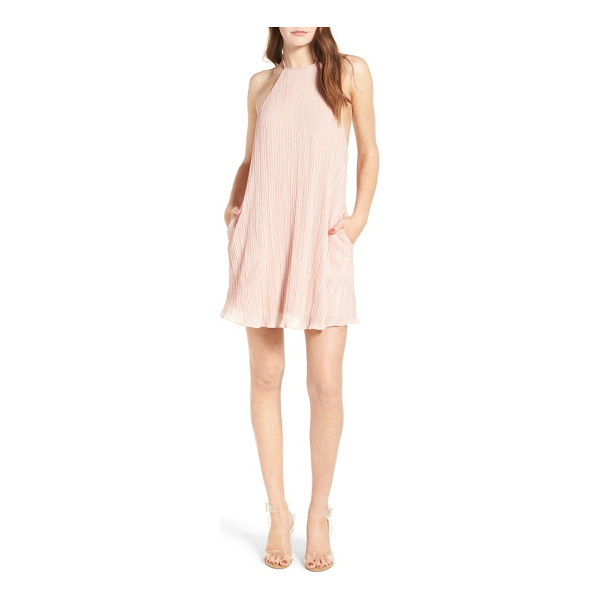 NBD ego minidress - An airy minidress perfect for evenings out, this softly...