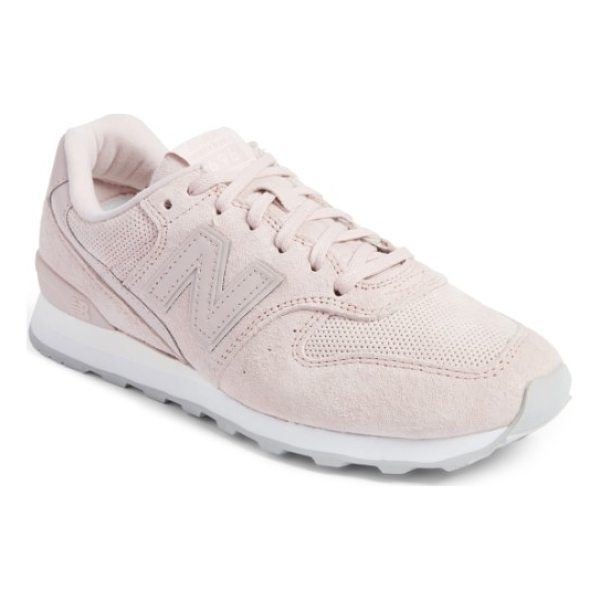 NEW BALANCE '696' sneaker - New Balance relaunches its iconic 696 sneaker in lush suede...