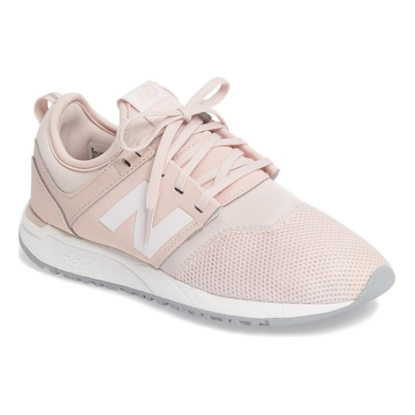 NEW BALANCE sport style 247 sneaker - Unique bootie construction perfects the fit of a stylish...