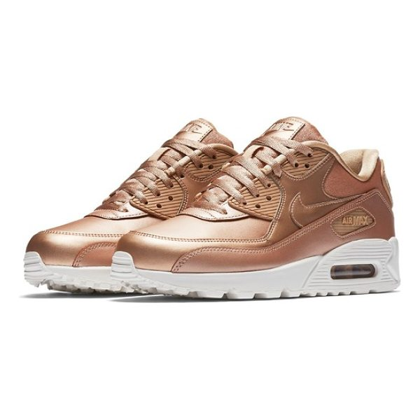 NIKE air max 90 premium sneaker - Built for supreme comfort, this iconic sneaker-offered here...