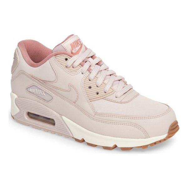 NIKE air max 90 sneaker - A classic sneaker in smooth leather features a cushioned...