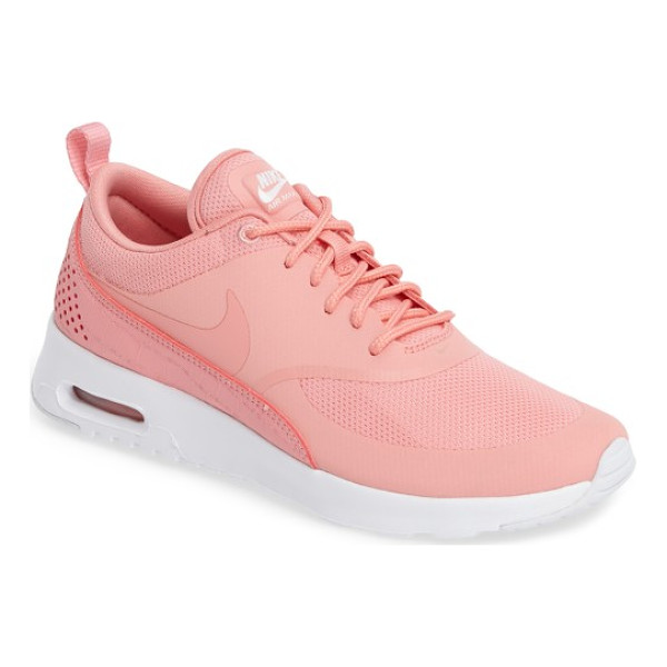 NIKE air max thea sneaker - A sporty low-profile sneaker features breathable mesh...