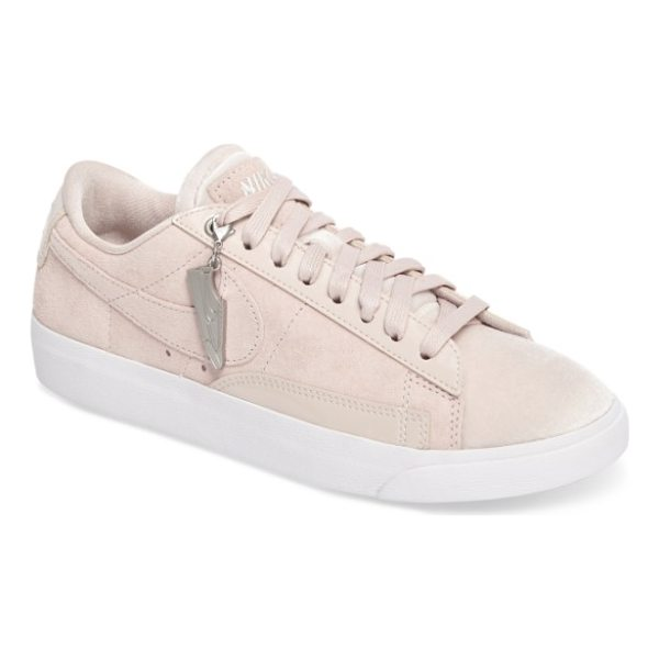 NIKE blazer low lx sneaker - Minimal stitching and edgy, deconstructed styling refresh...