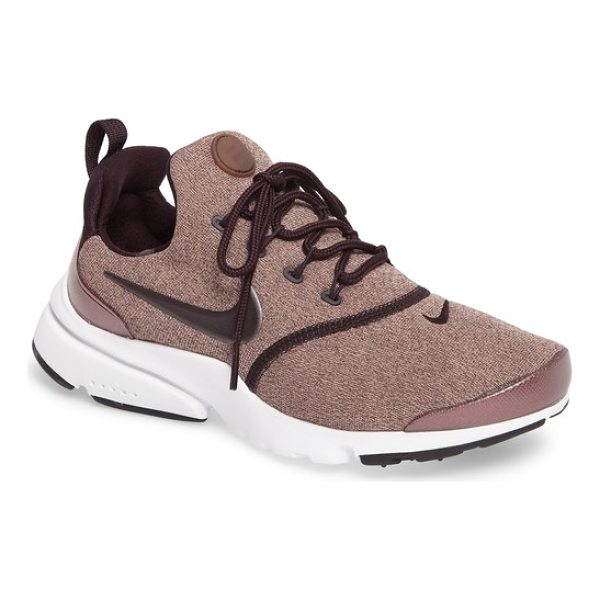 NIKE presto fly sneaker - A breathable stretch-mesh upper made to feel as comfortable...