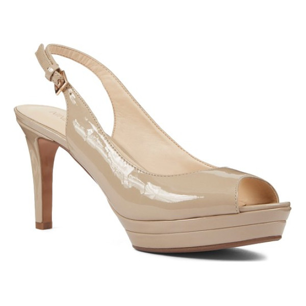 NINE WEST 'able' pump - A no-nonsense platform creates effortless height for a...