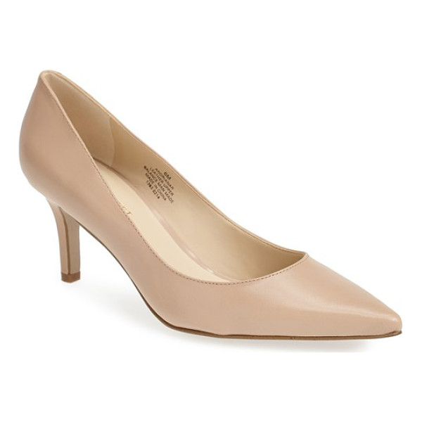 NINE WEST adriana pointy toe pump - A just-right heel and a pretty, pointed toe make this...