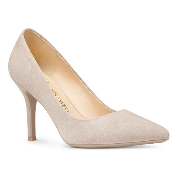 NINE WEST fifth pointy toe pump - A gorgeously tapered heel and a shorter vamp bring...