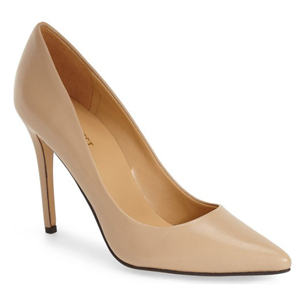 NINE WEST frolic pump - Elegant and feminine, this clean and classic pointy-toe...