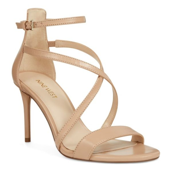 NINE WEST retail therapy strappy sandal - Perfect for a glamorous evening or night on the town, this...