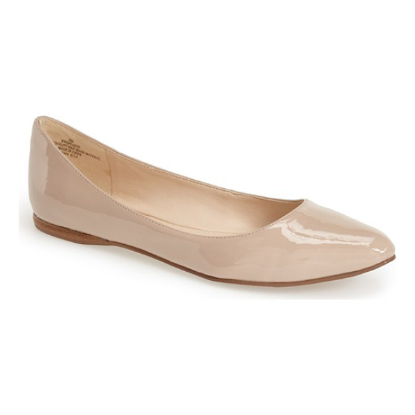 NINE WEST speakup flat - A classic pointy-toe flat effortlessly pairs with both work...