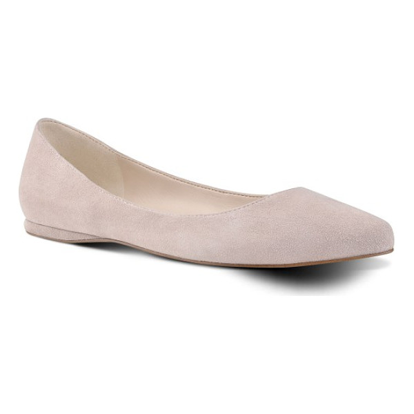 NINE WEST 'speakup' flat - A classic pointy-toe flat effortlessly pairs with both work...
