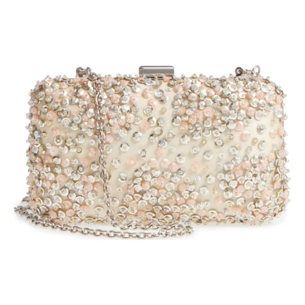 NORDSTROM confetti sequin minaudiere - Stacked confetti glitter shimmers and shines at the front...