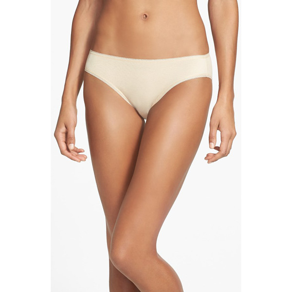 NORDSTROM cotton blend bikini - An essential bikini silhouette is fashioned from a...