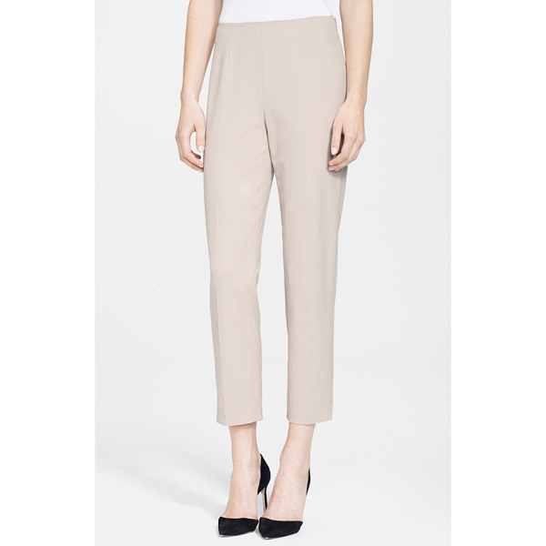 NORDSTROM SIGNATURE roma ankle pants - Slim-cut ankle pants rendered in a flattering bi-stretch...