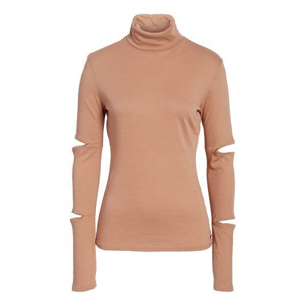 N:PHILANTHROPY easton cutout turtleneck - Cutouts on the extra-long, slouchy sleeves add edgy appeal...