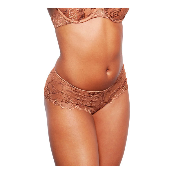 NUBIAN SKIN lace boyshorts - Classic boyshorts get a flirty update in delicate floral...
