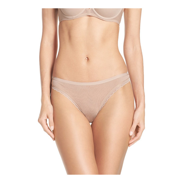 ON GOSSAMER hip g thong - This classic thong is especially ideal for travelling in...