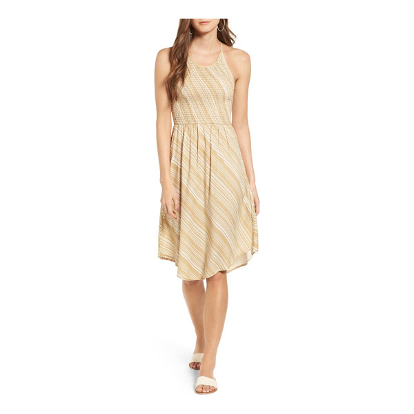 O'NEILL zora sundress - A smocked bodice adds sweet texture to this easy, breezy...