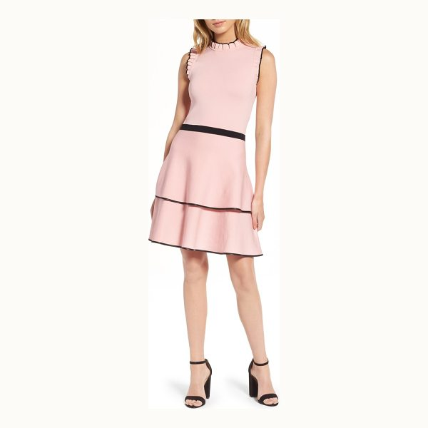 PARKER ryker fit & flare dress - This fit-and-flare cut with ruffled edges and a tiered...