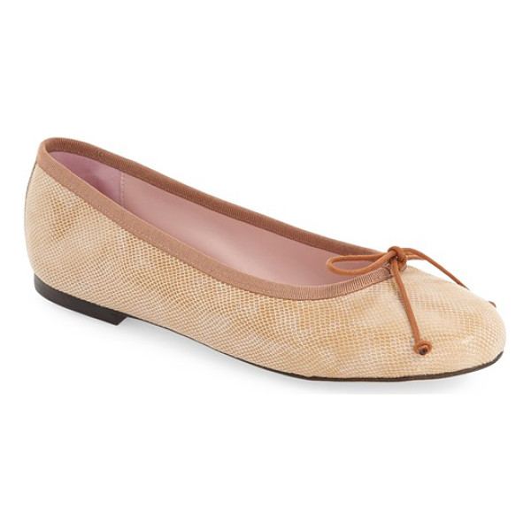 PATRICIA GREEN 'audrey' ballet flat - Pretty grosgrain trims the topline of a well-cushioned...