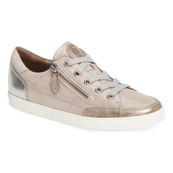 PAUL GREEN luca sneaker - A side zip closure makes it easy to pop in and out of a
