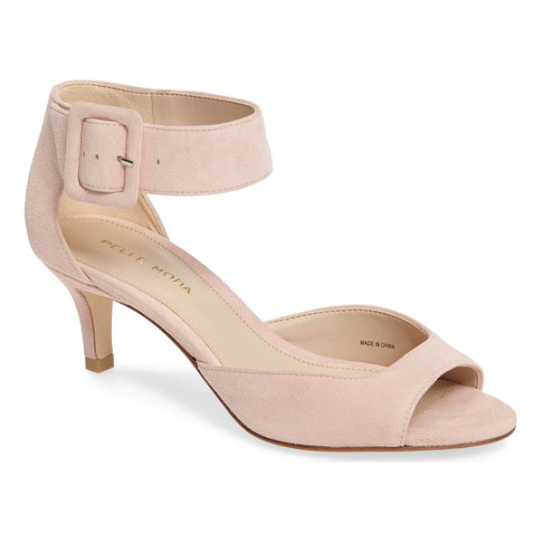 PELLE MODA 'berlin' ankle strap sandal - Crafted of luxe suede, this warm-weather sandal features a...