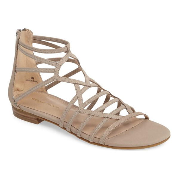 PELLE MODA brazil strappy sandal - Stretchy straps enhance the comfort of a breezy-chic sandal...
