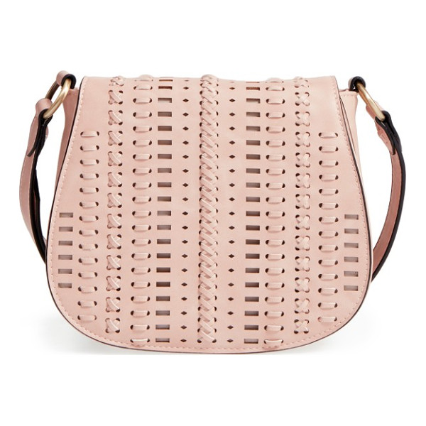 PHASE 3 woven saddle bag - Woven details enhance the Southwestern style of a chic
