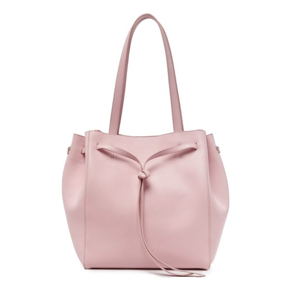 POP & SUKI carryall tote - Crafted in smooth, supple leather and cinched with an...