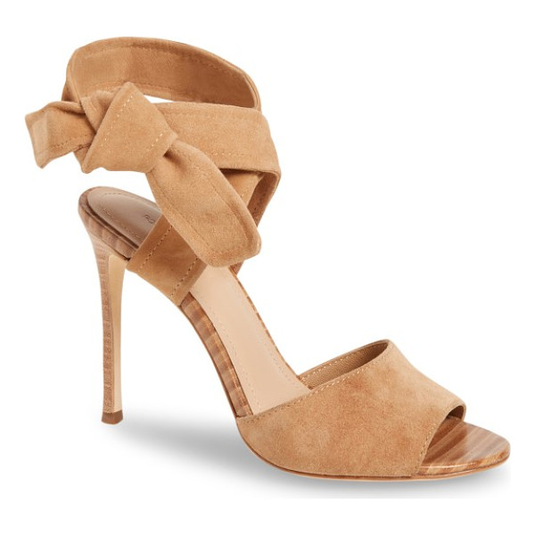 POUR LA VICTOIRE elsa sandal - A knotted strap exemplifies the chic simplicity of this