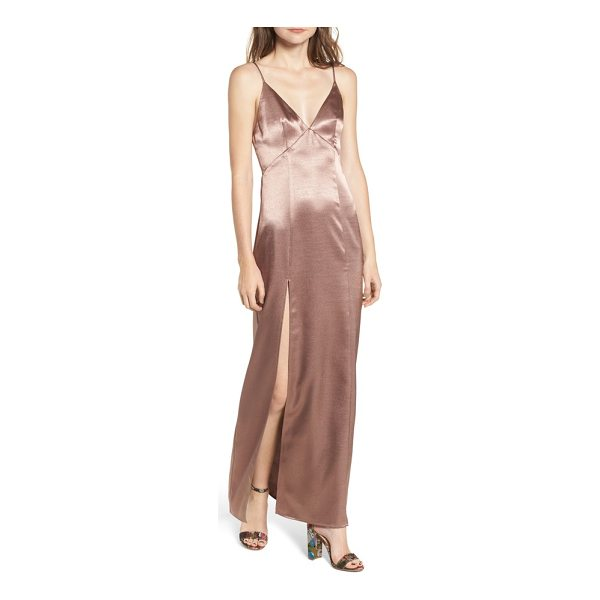 PRIVACY PLEASE bridge maxi dress - When your plans are amazing, make sure you have a dress to...