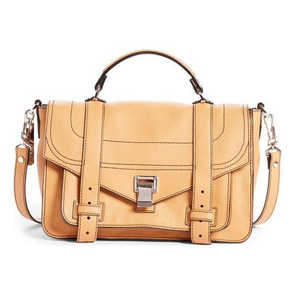 PROENZA SCHOULER medium ps1+ grainy leather satchel - Fresh design details perfect the look of this iconic bag,...