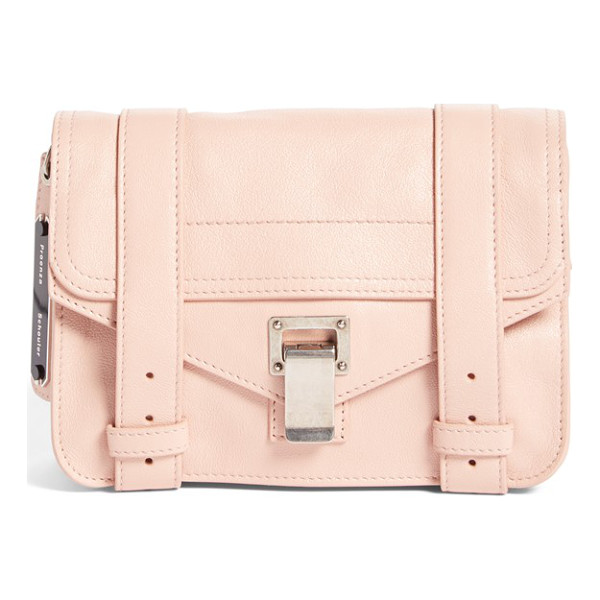 PROENZA SCHOULER Mini ps1 lambskin leather satchel - Supple lambskin leather is crafted into this compact...