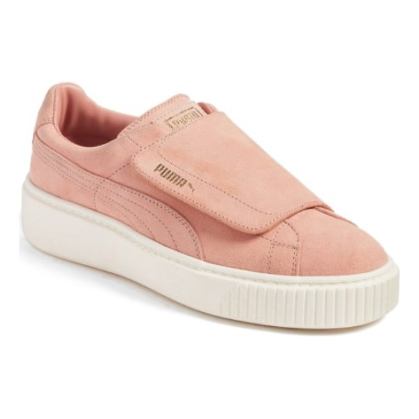 PUMA basket platform sneaker - The iconic Basket sneaker that had its origins as a...
